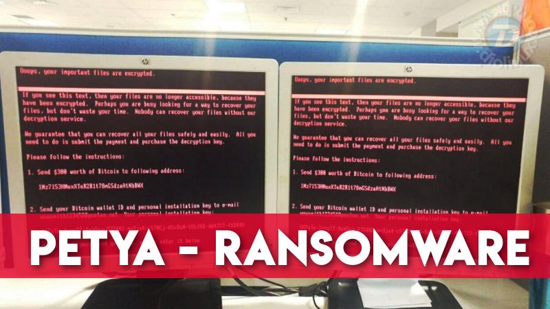 Petya - O novo Ransomware que está deixando os usuários preocupados